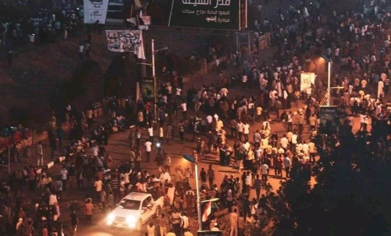 اعتصام القيادة العامة